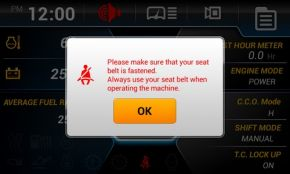 Seat Belt Warning Alarm